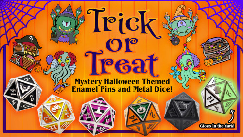 Dice and Gaming Accessories Other Gaming Accessories: Trick or Treat Complete Set