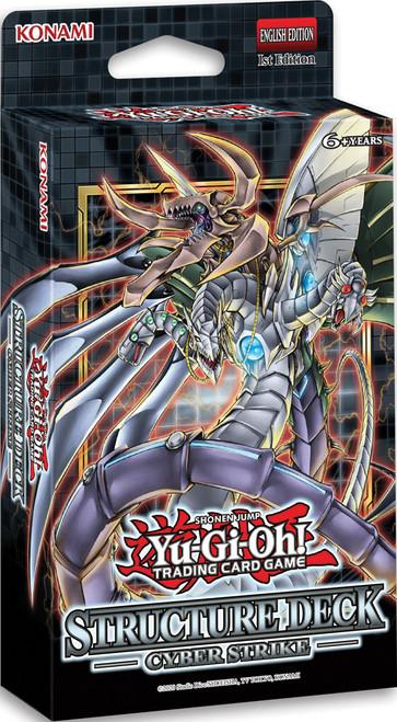 Yu-Gi-Oh: Cyber Strike Structure Deck Display