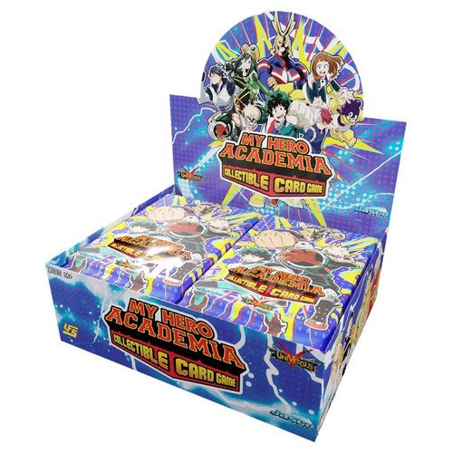 My Hero Academia CCG: Booster Pack Wave 1