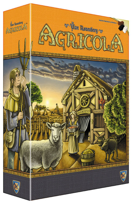 Board Games: Staff Recommendations - Agricola - Revised Edition