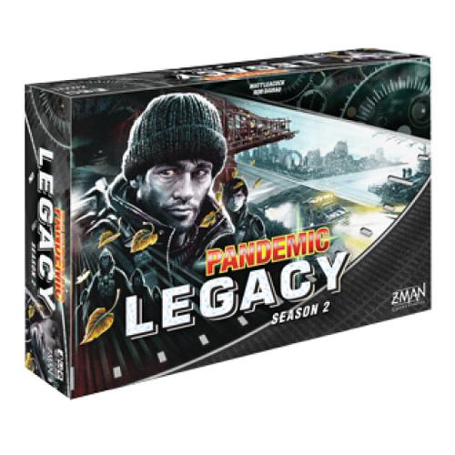 Board Games: Pandemic - Pandemic: Legacy Season 2 - Black