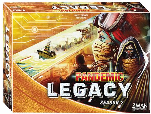 Board Games: Pandemic - Pandemic: Legacy Season 2 - Yellow