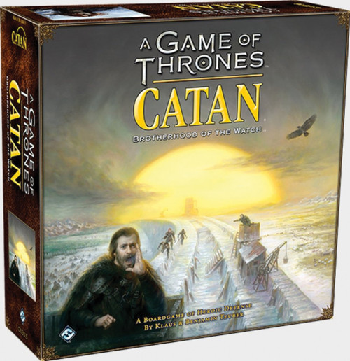 Board Games: Catan - A Game of Thrones Catan: Brotherhood of the Watch