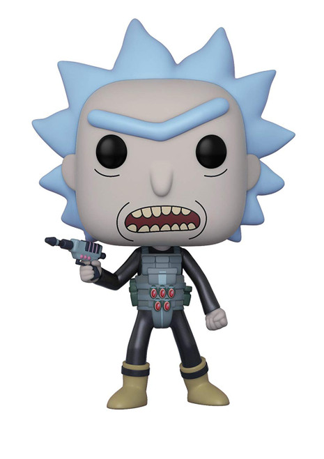 Funko POP!'s: Pop! Rick and Morty: Prison Break Rick Vinyl Figure