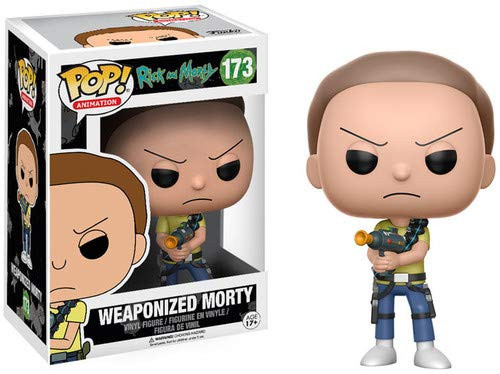 Funko POP!'s: Pop! Rick and Morty: Weaponized Morty Vinyl Figure