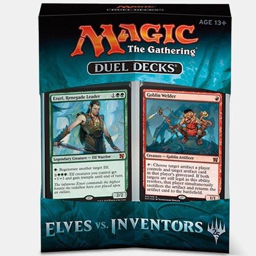 Magic The Gathering Sealed: PreMade Decks/Special - Duel Decks Elves vs Inventors