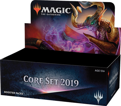 Magic The Gathering Sealed: Core Set 2019 - Booster Box