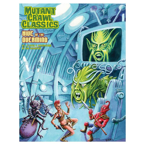 Dungeon Crawl Classics/GG: Mutant Crawl Classics: #1 Hive of the Overmind