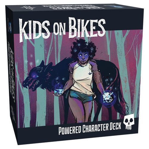 Miscellanous RPGs: Kids on Bikes: Powered Character Deck