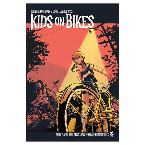 Miscellanous RPGs: Kids on Bikes: Core Rule Book
