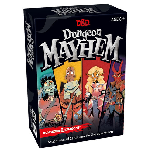 Card Games: Staff Recommendations - Dungeons and Dragons: Dungeon Mayhem