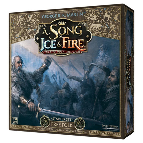 A Song of Ice & Fire Tabletop Miniatures Game: Free Folk - A Song of Ice & Fire: Free Folk Starter Set