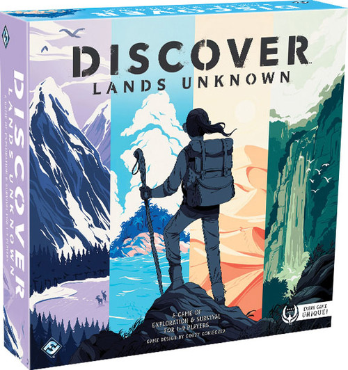 Board Games: Staff Recommendations - Discover: Lands Unknown