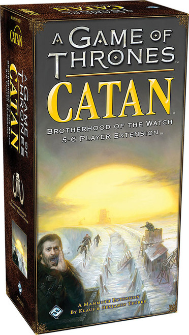 Board Games: Catan - A Game of Thrones Catan: Brotherhood of the Watch - 5-6 Player Extension
