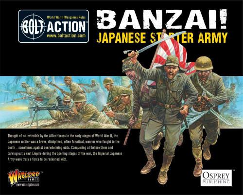 Bolt Action: Banzai! Japanese Starter Army