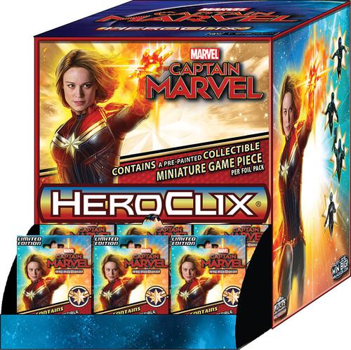 HeroClix: Marvel: Captain Marvel Movie Gravity Feed