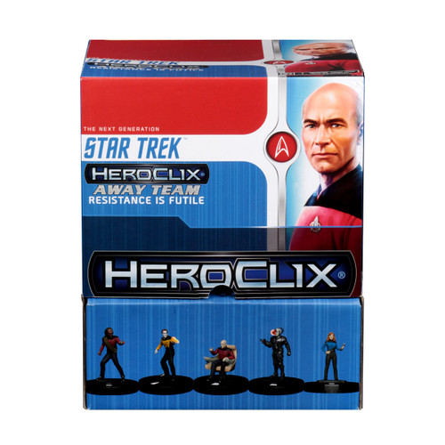 HeroClix: Star Trek Away Team: The Next Generation - Resistance is Futile Gravity Feed