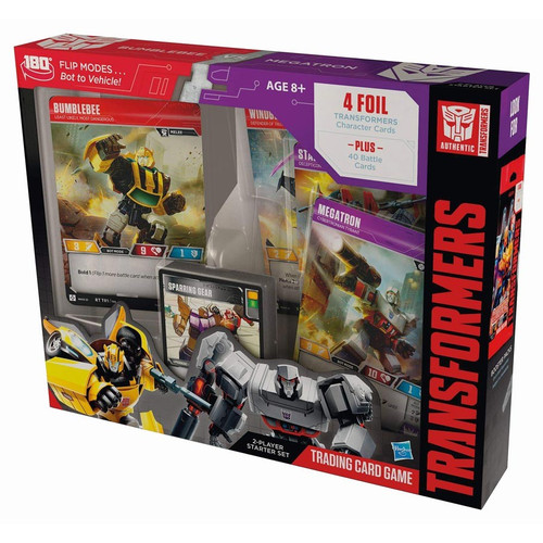 Transformers TCG: Transformers TCG: Rise of the Combiners Bumblebee Vs. Megatron Starter Deck
