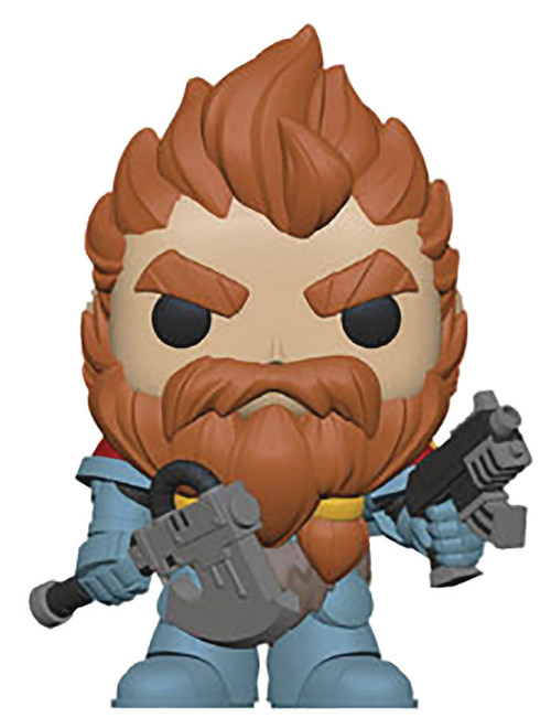 Funko POP!'s: POP! Warhammer 40K - Space Wolves Blood Claw Pack Leader