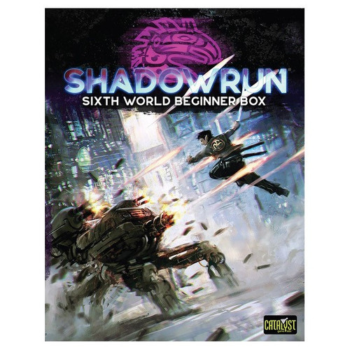 Shadowrun: Shadowrun RPG: 6th Edition Beginner Box