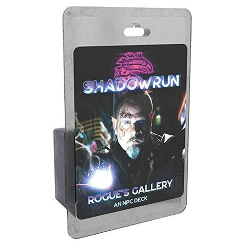Shadowrun: Shadowrun RPG: 6th Edition Rogue's Gallery - An NPC Deck