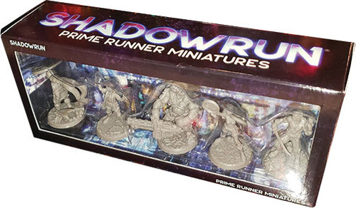 Shadowrun: Shadowrun RPG: 6th Edition Prime Runner Miniatures