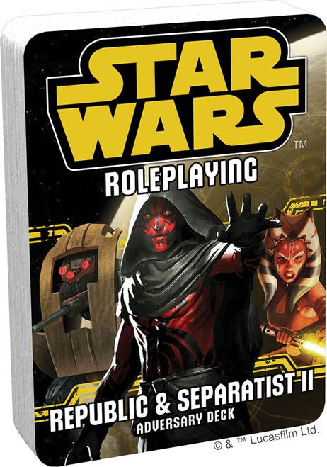 Star Wars: Star Wars RPG: Adversary Deck - Republic and Separatist II