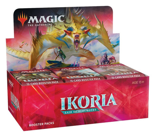 Magic The Gathering Sealed: Ikoria: Lair of Behemoths - IKO Booster Display (36)