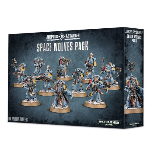 Warhammer 40K: Space Wolves - Pack