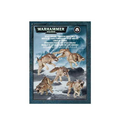 Warhammer 40K: Space Wolves - Fenrisian Wolf Pack
