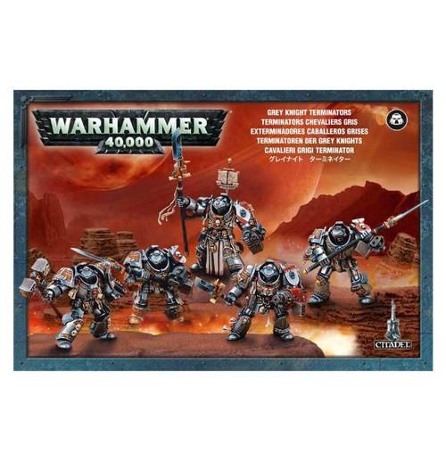Warhammer 40K: Grey Knights - GK Terminator Squad/Paladins