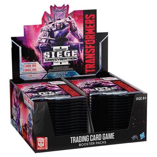 Transformers TCG: Transformers TCG: War for Cybertron - Siege II Booster Display (30)