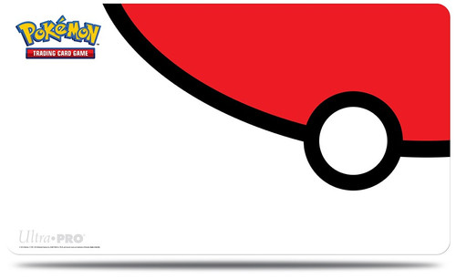 Pokemon TCG: Accessories - Pokemon Play Mat - Pokeball