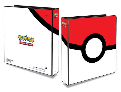 "Pokemon TCG: Accessories - Pokemon 2"" Album - Poke Ball"