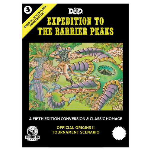 Dungeon Crawl Classics/GG: Original Adventures Reincarnated #3: Expedition To The Barrier Peaks