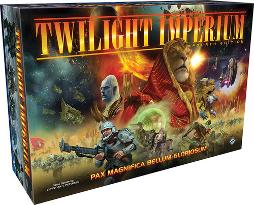 Board Games: Staff Recommendations - Twilight Imperium 4th Edition