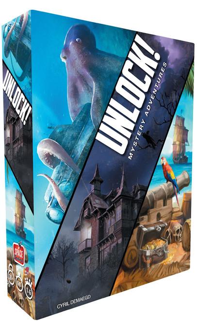 Board Games: Unlock - Unlock! Mystery Adventures