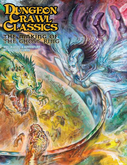 Dungeon Crawl Classics/GG: Dungeon Crawl Classics: #85 The Making of the Ghost Ring