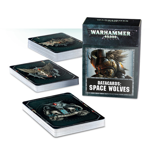 Warhammer 40K: Datacards: Space Wolves
