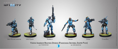 Infinity: PanOceania - Varuna Immediate Reaction Division Sectorial Starter Pack