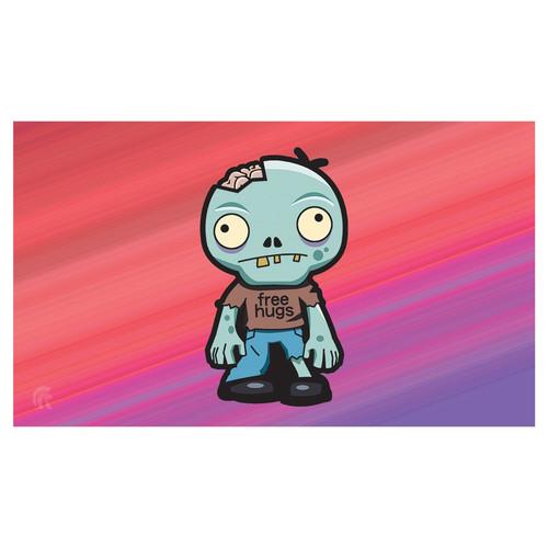 Playmats: Other Printed Playmats - Playmat - Zombie Hugs