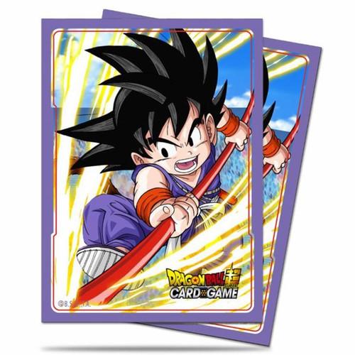 DragonBall Super: Accessories - Dragon Ball Super Standard Deck Protectors - Explosive Spirit Son Goku (65)