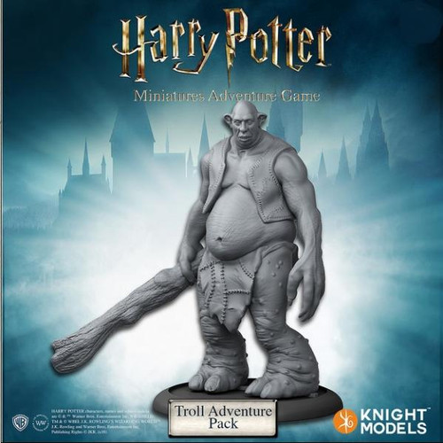 Harry Potter Miniatures Game: Troll Adventure Pack