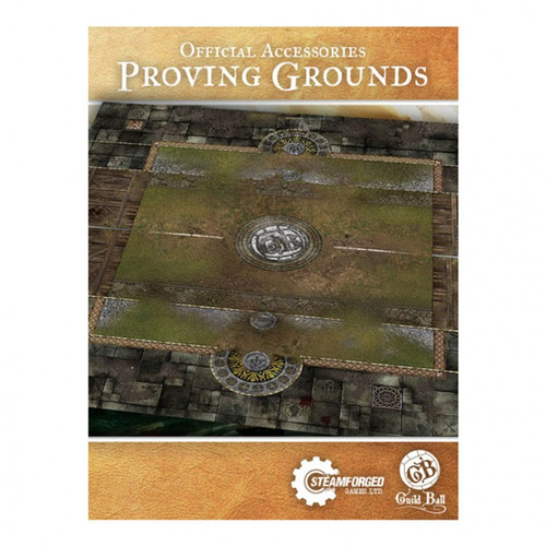 Guild Ball: Accessories - GB: Play Mat: Proving Grounds