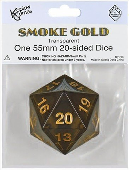 Dice and Gaming Accessories Other Gaming Accessories: D20 55mm Countdown TR SMGD