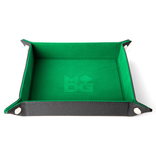 Dice and Gaming Accessories Dice Towers and Trays: Folding Dice Tray: Velvet 10x10 GR
