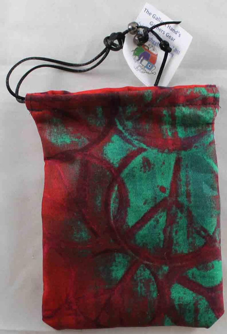 Dice and Gaming Accessories Dice Bags: Dice Bag: Peace