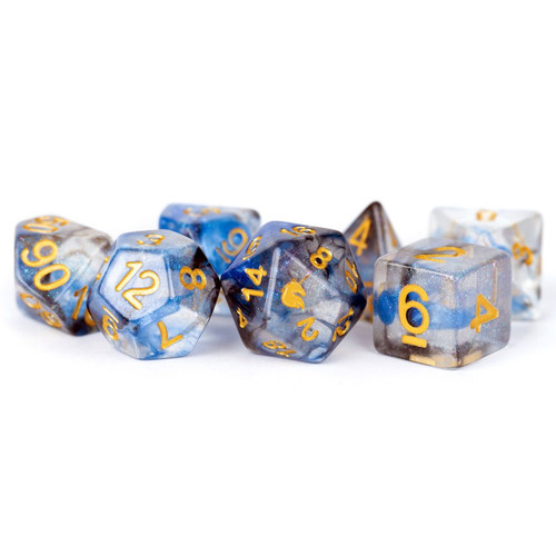 Dice and Gaming Accessories Polyhedral RPG Sets: 7-Set: Unicorn: Arctic Storm