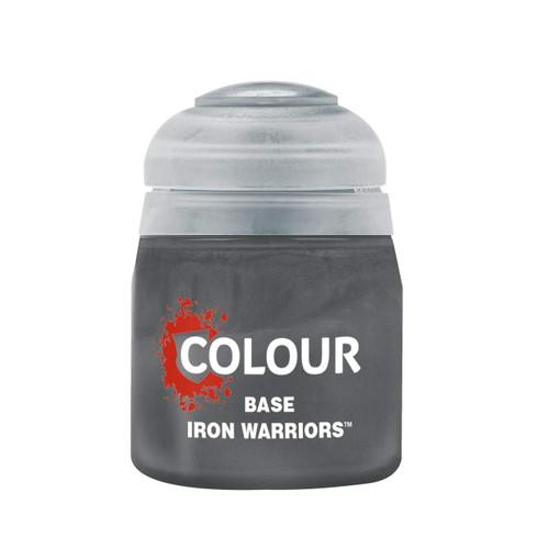 Paint: Citadel - Base Base: Iron Warriors (12mL)