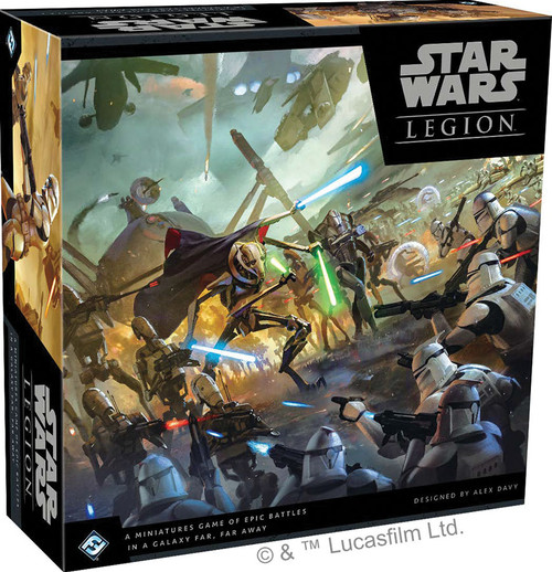 Star Wars: Legion - Clone Wars Core Set Starter Game